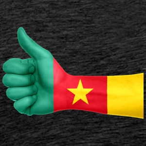 Cameroon Flag - Men's Premium T-Shirt
