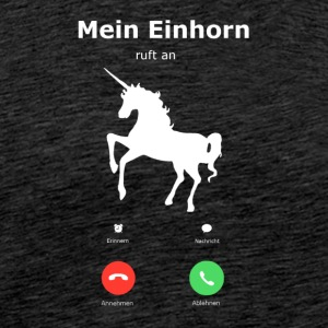 My Unicorn is calling - Men's Premium T-Shirt