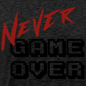 Big_Never_game_Over - Herre premium T-shirt