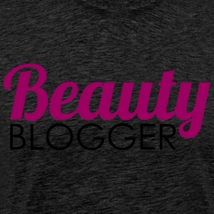 Beauty Blogger - Premium T-skjorte for menn