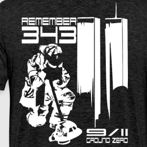Remember 343 - 9/11 groud zero - Men's Premium T-Shirt