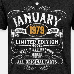 January 1979 - 40th birthday vintage gift