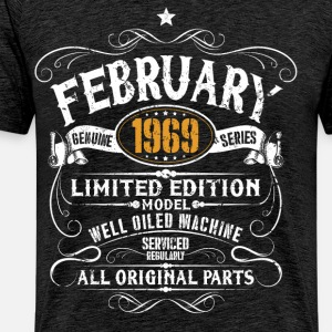 February 1969 - 50th birthday vintage gift