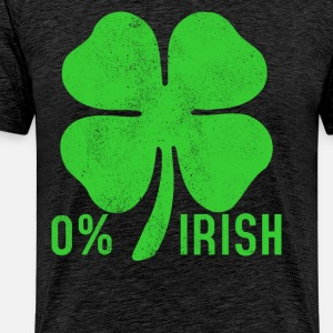 St. Patrick's Day - 0% Irish