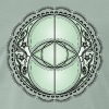 Vesica Piscis, Chalice Well, Avalon, magic, celtic - Men's Premium T-Shirt
