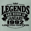 Legends are born in january 1992 - Men's Premium T-Shirt