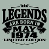 Legends are born in may 1974 - Men's Premium T-Shirt
