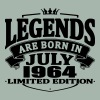 Legends are born in july 1964 - Men's Premium T-Shirt