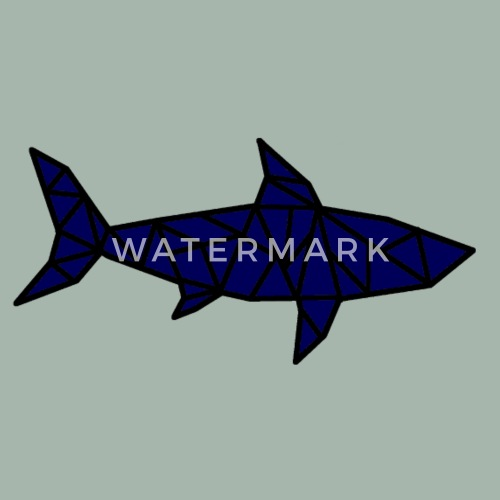 Shark Origami By Watersolution Spreadshirt