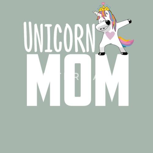 Iets Nieuws Unicorn mom mum mama kerstcadeau van Awesome Teesign | Spreadshirt &EW62