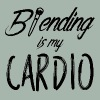 Beauty / MakeUp: Blending is my cardio - Men's Premium T-Shirt