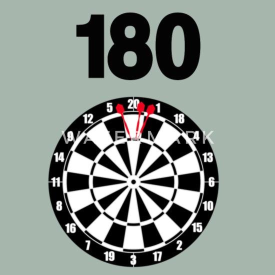 180 dart skjorte darttavle for turnering, trening Premium T