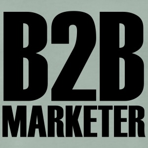 B2B - Marketer - De zakelijke professional in Marketing - Mannen Premium T-shirt