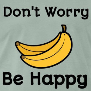 Dont worry be happy - Men's Premium T-Shirt