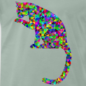 Prismatic cat - Men's Premium T-Shirt