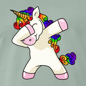 Unicorn Dabbing Unicorn T-Shirt - Men's Premium T-Shirt