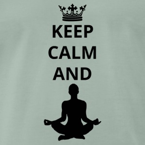 geschenk keep calm and yoga 5 png