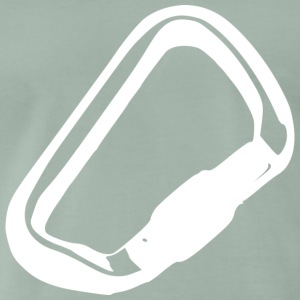 White carabiner - Men's Premium T-Shirt