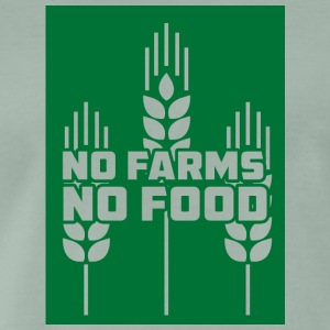 Farmer / Farmer / Farmer: No Farms, No Food - Men's Premium T-Shirt