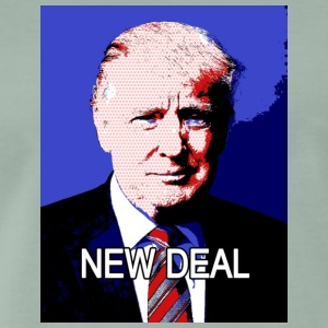Trump_New_Deal - Mannen Premium T-shirt