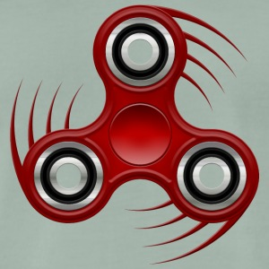 Fidget Spinner 008 Red AllroundDesigns - Men's Premium T-Shirt