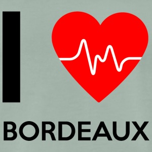 I Love Bordeaux - Jeg elsker Bordeaux - Premium T-skjorte for menn