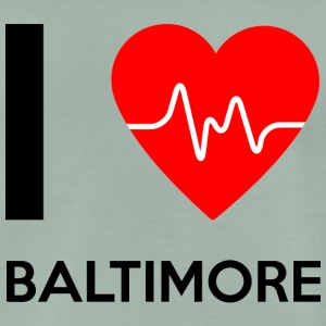 J'aime Baltimore - I Love Baltimore - T-shirt Premium Homme