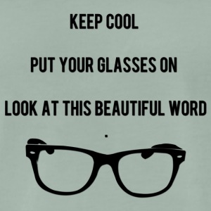 Keep Cool Glasses - Männer Premium T-Shirt