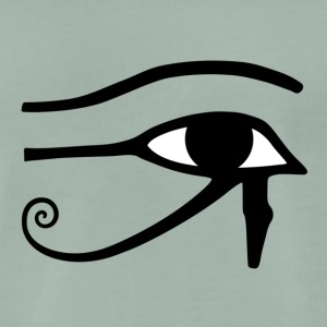 Eye of Horus - Premium-T-shirt herr
