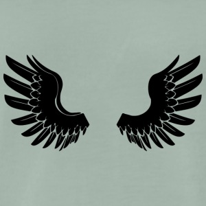 Black Angelwings - T-shirt Premium Homme