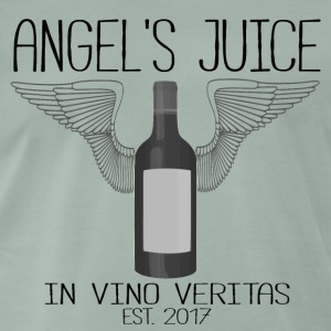 ANGEL S JUICE - i Vino Veritas - Premium T-skjorte for menn