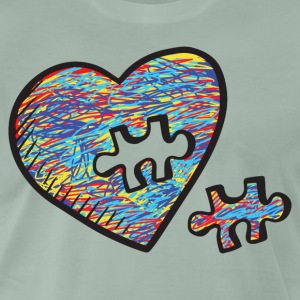 Autism Acceptance Heart Puzzle Birthday Shirt