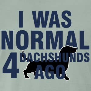Dachs / Basset: I Was Normal 4 Dachshunds siden