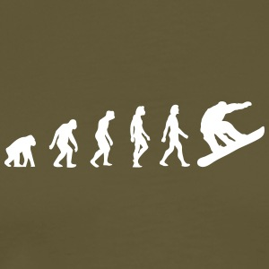 The Evolution Of Snowboarding - Men's Premium T-Shirt