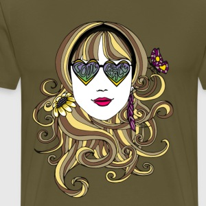 Festival Girl Love and Peace - Festivals2017 - Men's Premium T-Shirt