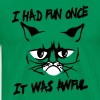 I had fun once, it was awful - Men's Premium T-Shirt
