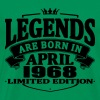 Legends are born in april 1968 - Men's Premium T-Shirt