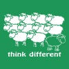 Think different - T-shirt Premium Homme
