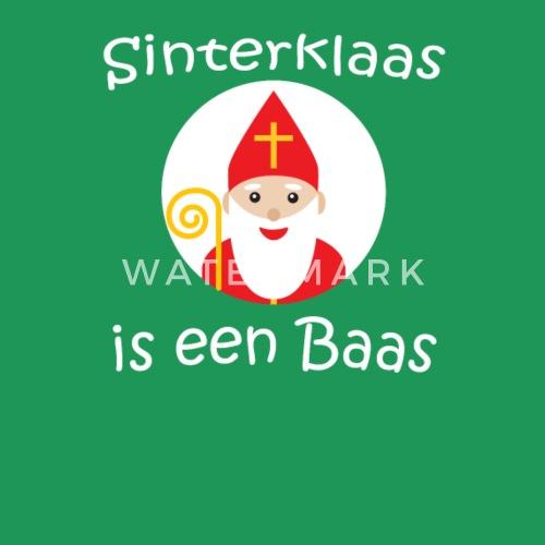 ae13dbeb11f3e Sinterklaas est een Baas néerlandais Pays-Bas Enfants T-shirt premium Homme    Spreadshirt