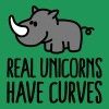 Real unicorns have curves - Koszulka męska Premium