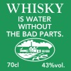 Whisky is water, Label - Men's Premium T-Shirt