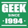 Geek since 1994 - Premium-T-shirt herr