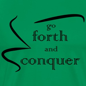 Forth and Conquer black - Men's Premium T-Shirt