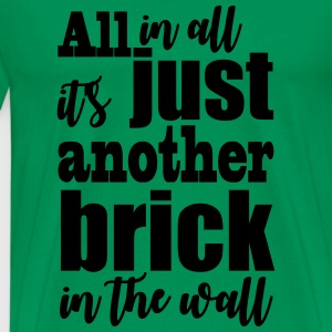 another brick vect - Men's Premium T-Shirt