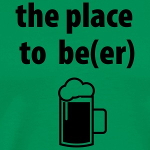 The Place to Beer - Men's Premium T-Shirt