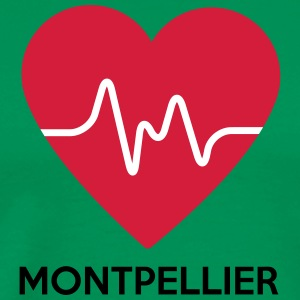 heart Montpellier - Men's Premium T-Shirt