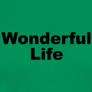 WonderfulLife - Premium-T-shirt herr