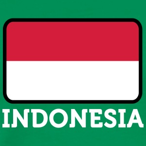 National Flag Of Indonesia - Premium-T-shirt herr