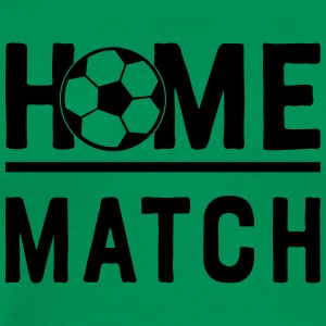 Fussball Match Home Heim Game Stadion 1c - Männer Premium T-Shirt