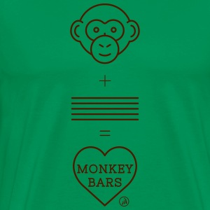 Monkey Bars - Premium-T-shirt herr